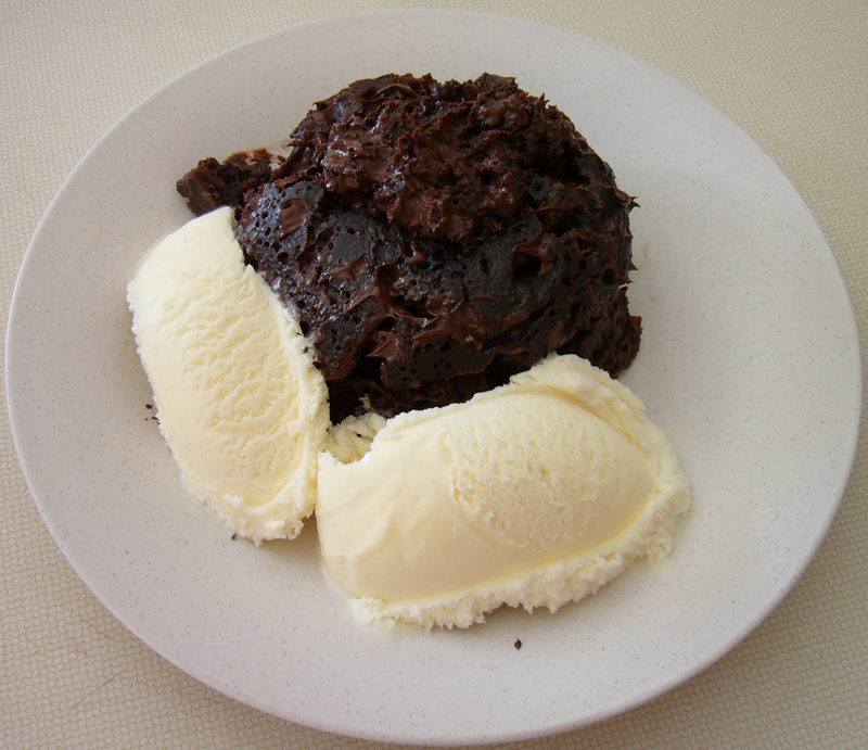 five minute chocolatenmug cake